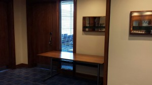 Success Moves Reception Area for Interviews